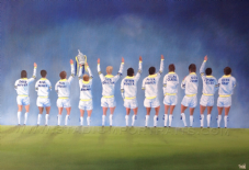 Leeds United -Class of '72  - A3 poster print